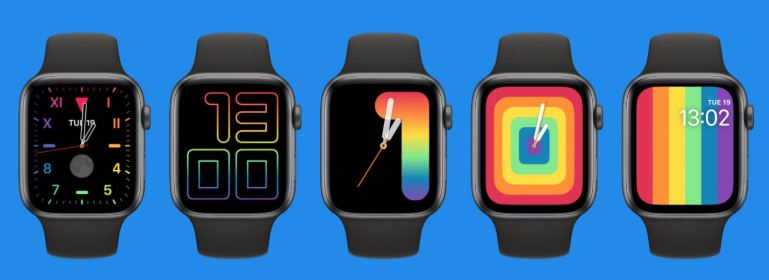 apple watch new faces